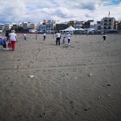 rifiuti fuochi pirotecnici monitoraggio beach litter