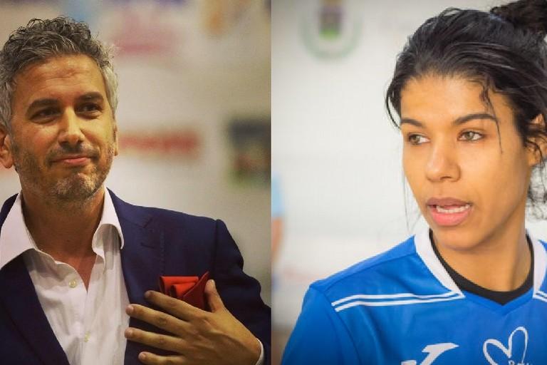 Max Bellarte e Fernanda Borzuk. <span>Foto Anygivensunday</span>