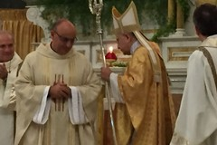 Don Matteo Martire nuovo parroco della Chiesa Matrice