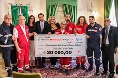Terremoto, 20mila euro donati dalla Despar alla Croce Rossa Italiana
