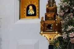 A Margherita di Savoia il reliquiario della Madonna delle Lacrime
