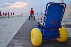A Margherita di Savoia il mare è senza barriere