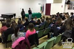 Studenti stranieri in visita alle saline di Margherita di Savoia