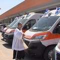 Asl Bt inaugura sei nuove ambulanze dotate di servizi di avanguardia