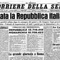 2 giugno, 71esimo anniversario della Repubblica