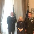 Il Prefetto Cerniglia saluta il nuovo comandante dei Carabinieri Forestali