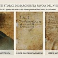 Registri storici del XVIII secolo in mostra a Margherita di Savoia