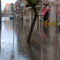 """Pioggia e città bloccata: disagi stamane dopo due ore di  """"acqua """""""