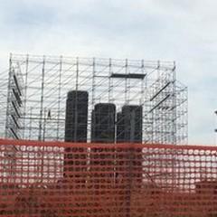 Ecco le gabbie per le due torri dell'area ex-Saibi