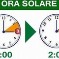 Ritorna l'ora solare, stanotte lancette indietro di un'ora