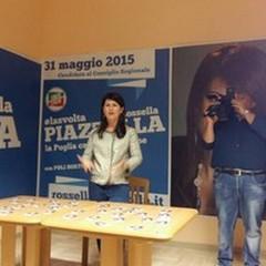 Rossella Piazzolla inaugura il comitato