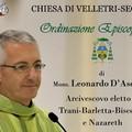 Mons. D'Ascenzo riceve l'ordinazione episcopale: su MargheritaViva.it la diretta della celebrazione