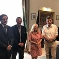 Il Prefetto incontra il sindaco di Margherita di Savoia Lodispoto