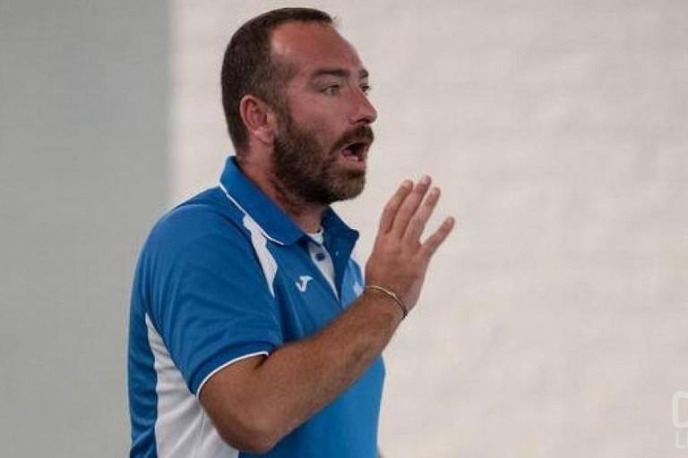 Domenico Lodispoto, tecnico della Salinis. <span>Foto Calcio a 5 Live</span>