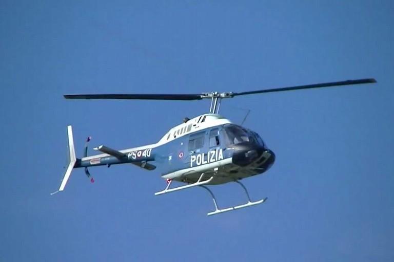 Elicottero Polizia