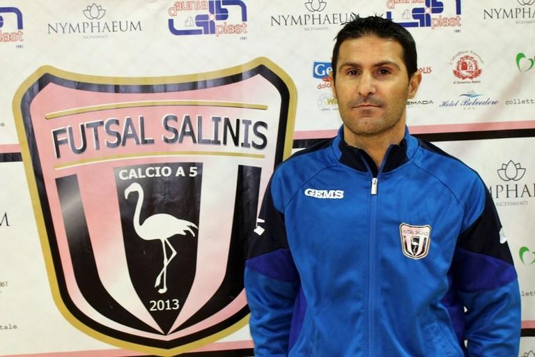 Enrico Cocco, tecnico del Futsal Salinis