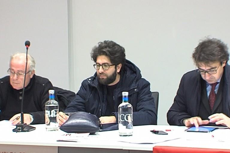 Da sinistra: Deleonardis, Disabato e Gesmundo