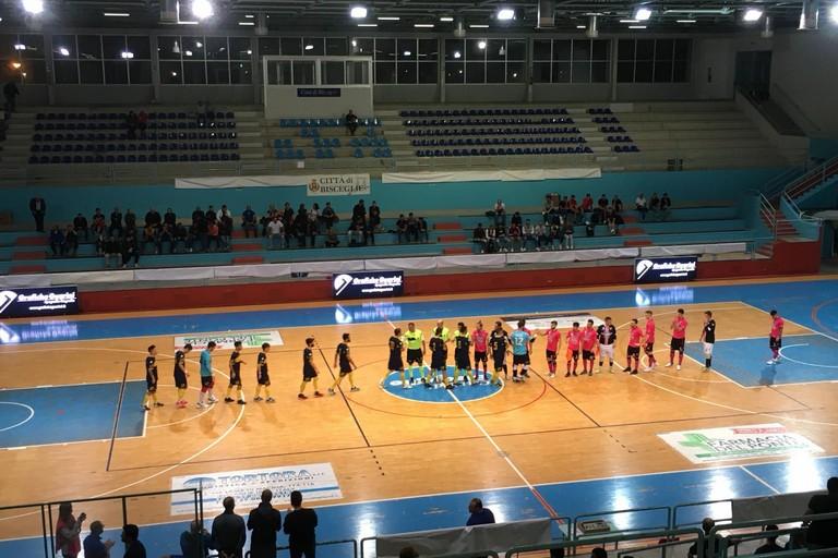 Futsal Bisceglie-Salinis Margherita. <span>Foto MargheritaViva</span>