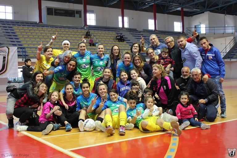 Futsal Salinis Margherita. <span>Foto Débora Braga</span>