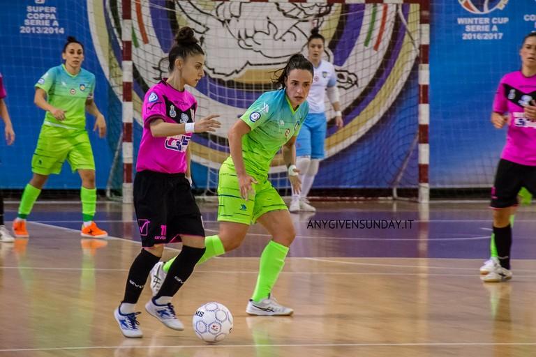 Jessica Exana del Futsal Salinis. <span>Foto Anygivensunday</span>