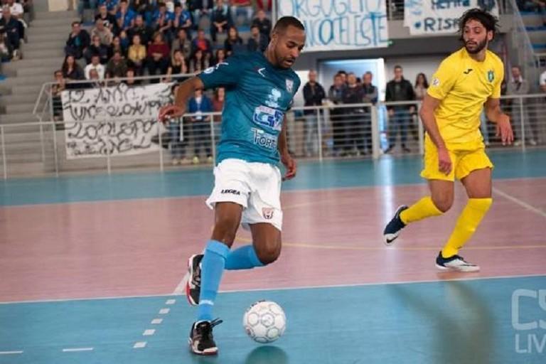 Marcelinho della Salinis. <span>Foto Calcio a 5 Live</span>