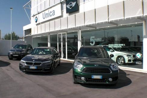 Concessionaria Unica Trani presenta la nuova BMW serie 5 e Mini Countryman