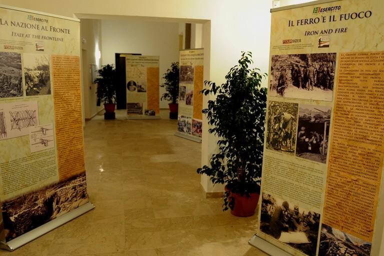 """La mostra sulla """"Grande Guerra"""" farà tappa a Margherita di Savoia"""