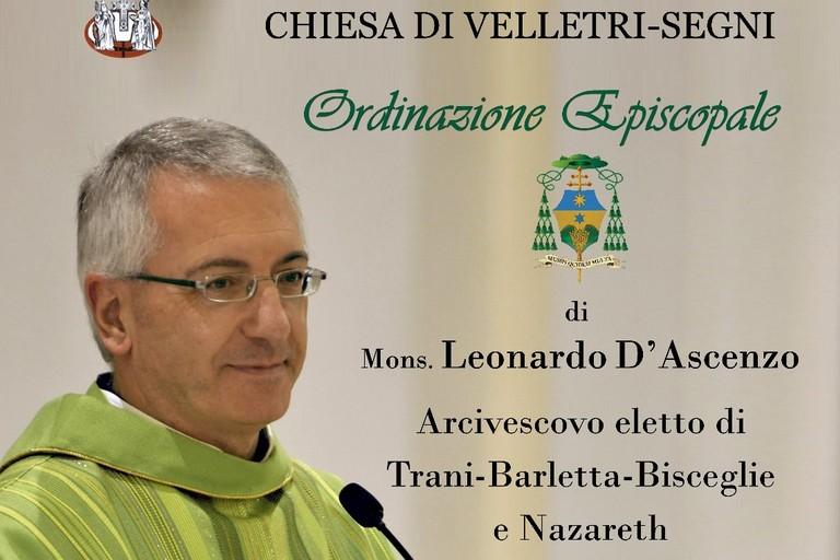 Mons. Leonardo D'Ascenzo, il 14 gennaio l'ordinazione episcopale a Velletri