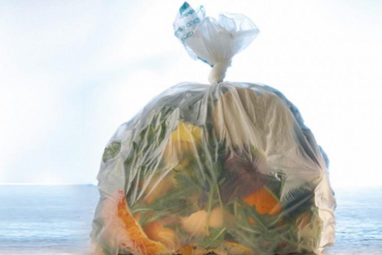 sacchetto rifiuti