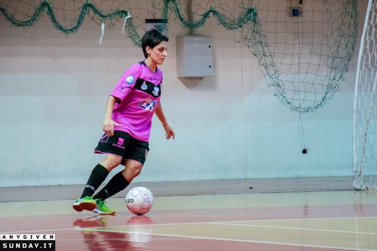 Valentina Siclari del Futsal Salinis