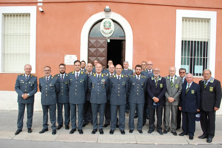 Visita Gen. Augelli - Guardia di Finanza