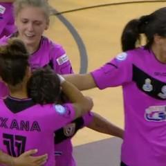Futsal Salinis, il sogno è realtà: lo scudetto a Margherita