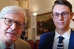 Elezioni regionali 2020, Vittorio Sgarbi supporta il candidato Ruggiero Grimaldi