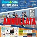 """Coronavirus, annullata la Half Marathon  """"Mare&Sale """""""