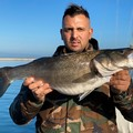 Pescata una spigola di oltre 4 chili a Margherita di Savoia