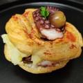 Da Margherita di Savoia la zeppola con polpo e patate