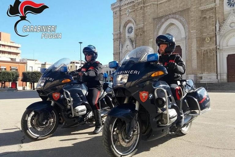 Carabinieri motocicletta