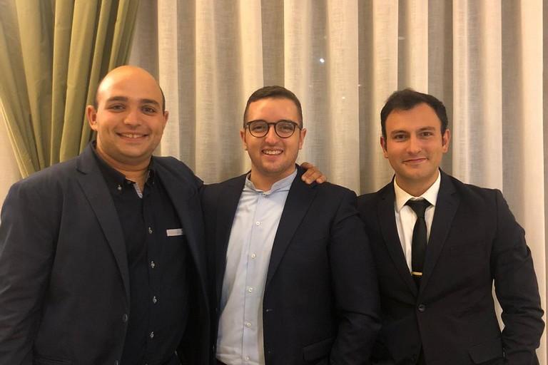 Silvio Caldarola, Felice Musto, Michele Piazzolla