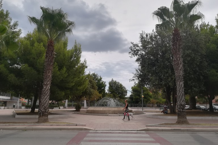 Piazza antistante al Municipio