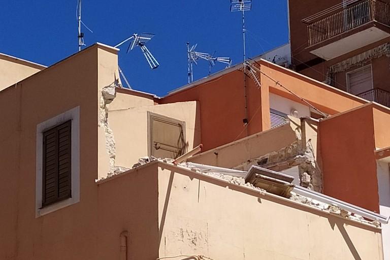 Crollo. <span>Foto Luca Capacchione</span>